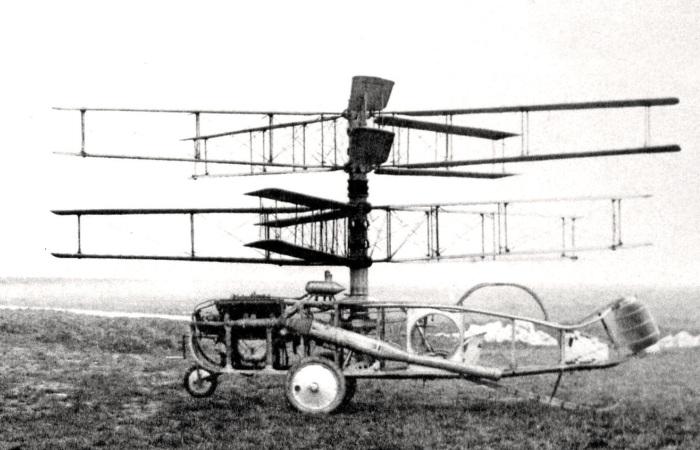 Аргентинский вертолет Pescara 2F, 1924 год. | Фото: ru.wikipedia.org.