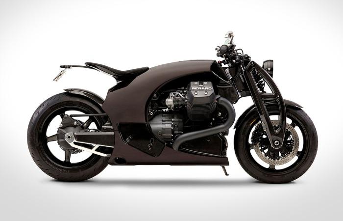 Эстонский мотоцикл Renard GT. | Фото: beautifullife.info.