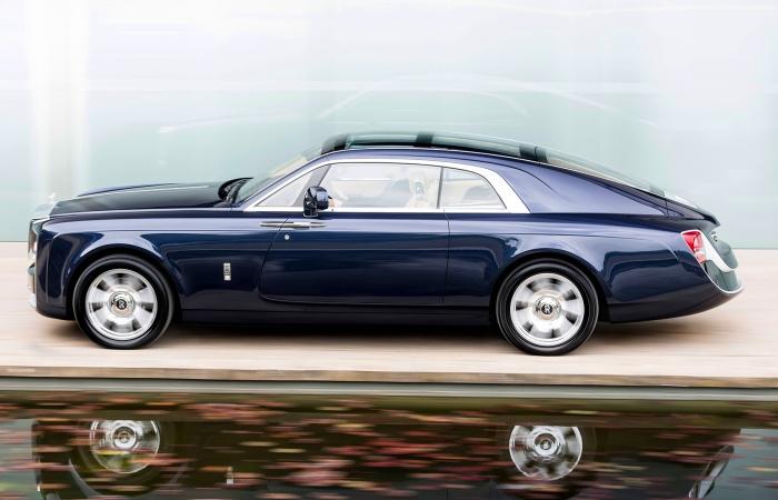 Непозволительно роскошный Rolls-Royce Sweptail.