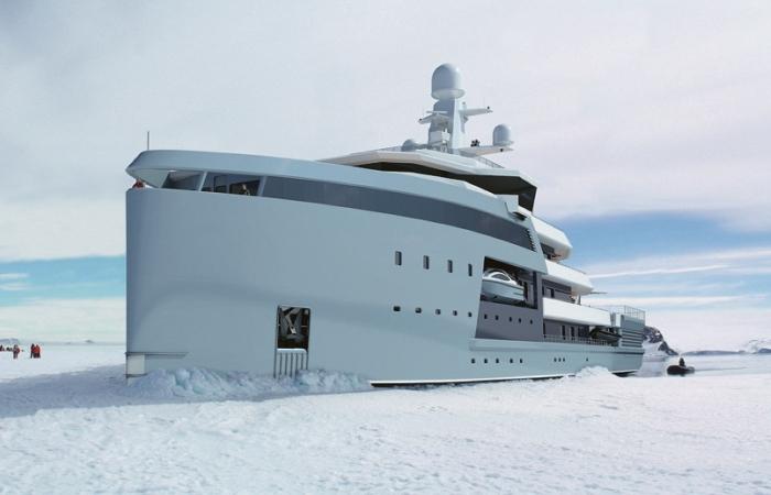 90-метровая яхта класса SeaXplorer.   Фото: beautifullife.info.
