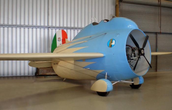 Музейная копия «самолета-трубы» Stipa-Caproni. | Фото: popmech.ru.