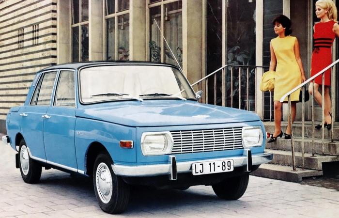 Wartburg 353 – немецкий автомобиль который можно было встретить в СССР. | Фото: classics.honestjohn.co.uk.