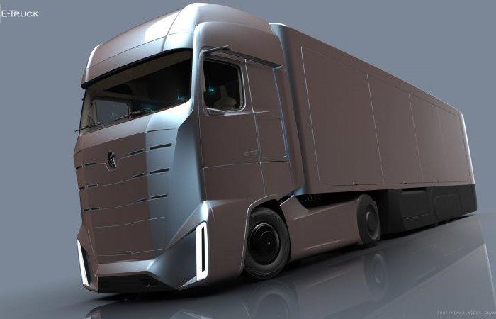 КАМАZ E-Truck – проект отечественного грузовика будущего.