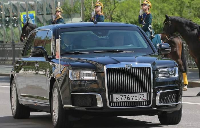 Aurus «Сенат» - лимузин для президента России. | Фото: kommersant.ru.