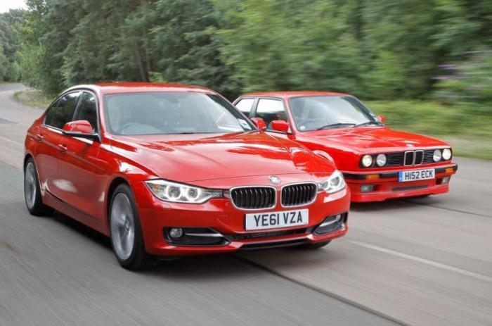 Преемственность поколений BMW 3-й серии. | Фото: autocar.co.uk.