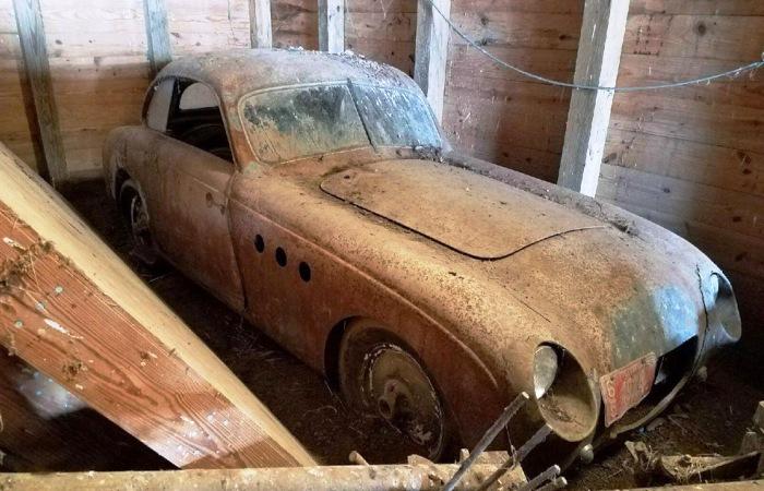 Уникальный BMW 328 простоял в гараже с 1970-х годов. | Фото: drive2.ru.