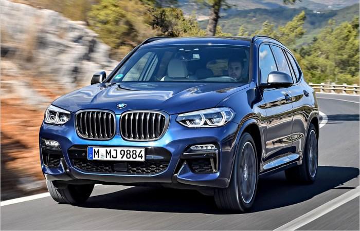 Кроссоверы BMW X3 в России пользуются большим успехом. | Фото: auto-news.de.