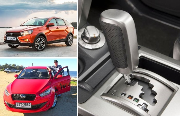 Автоматическая коробка передач теперь доступна и в классе бюджетных автомобилей.