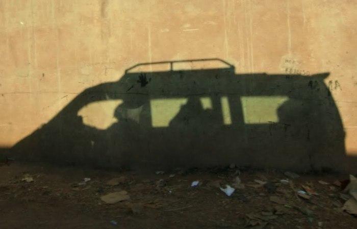 Тень автомобиля. | Фото: panoramio.com.