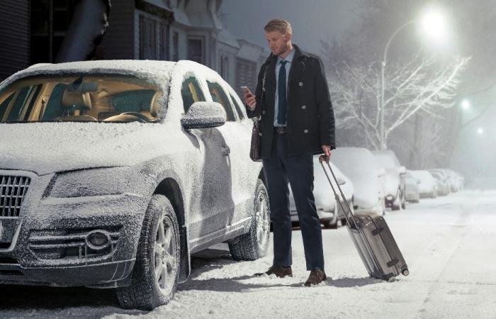 В сильный мороз многие автомобили, особенно дизельные, непросто завести. | Фото: xenon.ua.