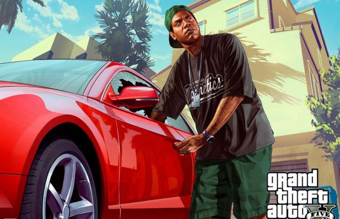 Образ «классического вора» в игре GTA V.