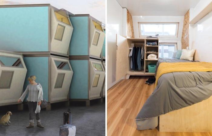 Модульные дома Homes for Hope могут полностью решить проблему городских бездомных.