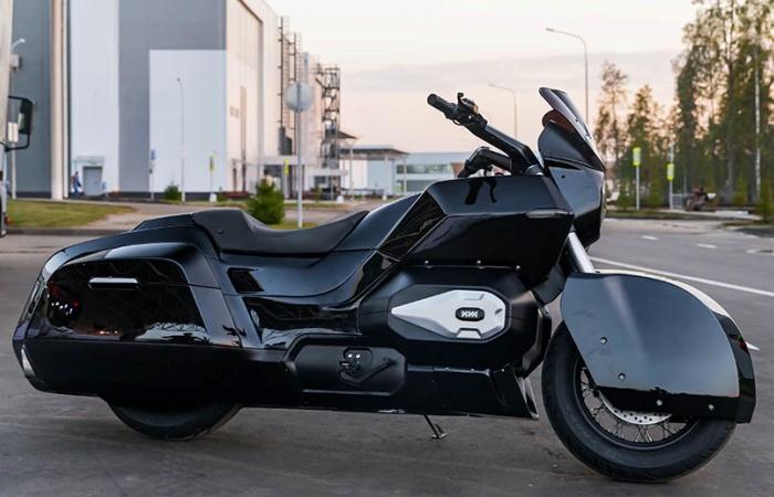 О российском мотоцикле ИЖ Бэтмен может только мечтать. | Фото: kalashnikov.media.
