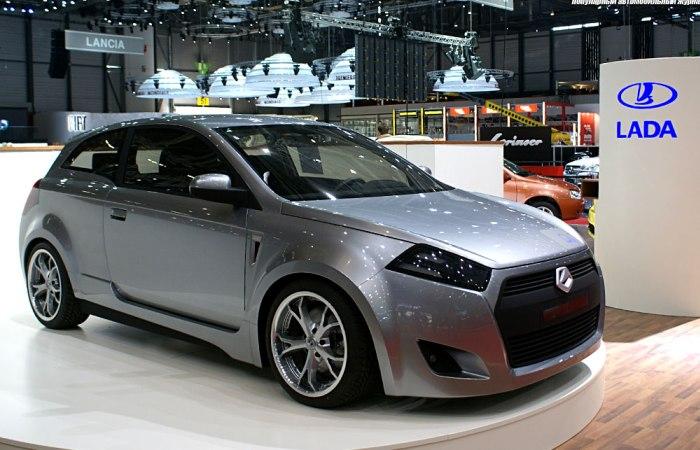 Концептуальный хэтчбек Lada C Concept 2007 года. | Фото: auto-tuning-news.com.