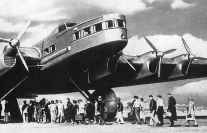 «Максим Горький» - самый большой в мире самолет 1930-х годов. | Фото: weekend.rambler.ru.