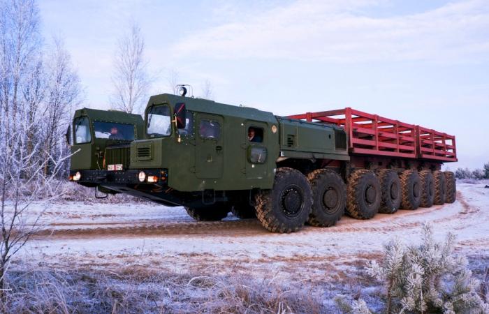 МАЗ-79221 - многоколесная белорусская «сороконожка».