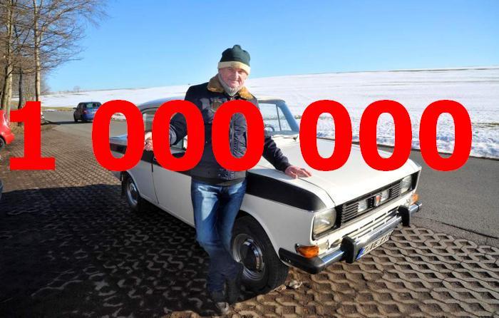 Даже советский «Москвич» может проехать миллион километров.