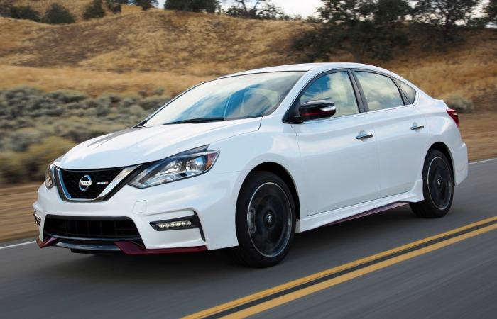 Nissan Sentra – тот случай, когда японская машина пасет задних. | Фото: guideautoweb.com.