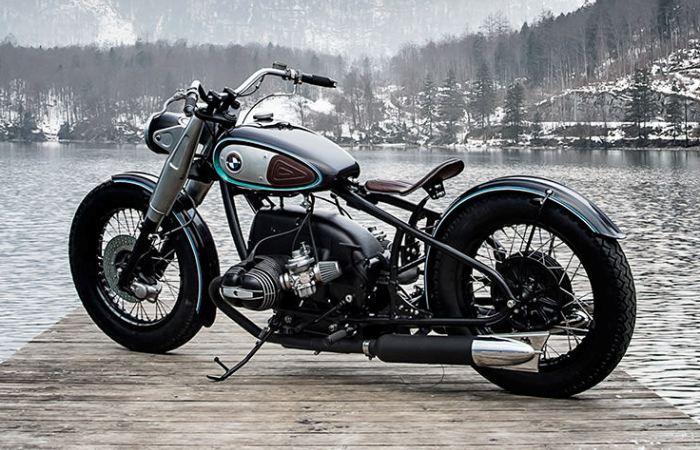 Боббер из старого мотоцикла BMW.
