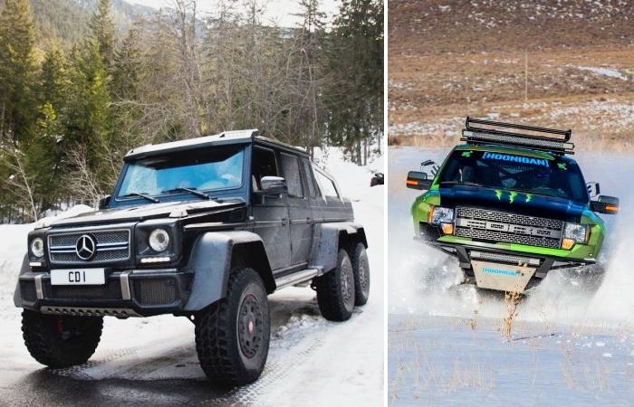 Лучшие автомобили для зимней непогоды.