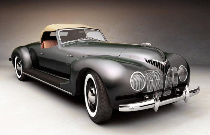 Первый советский спортивный автомобиль.