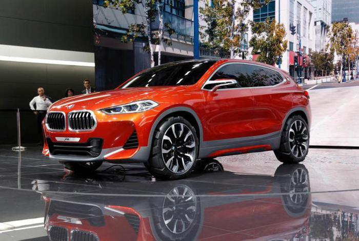 BMW X2 объединяет пропорции купе с надежностью конструкции X-серии.