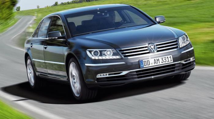 Volkswagen Phaeton - великолепие, которое оказалось ненужным.