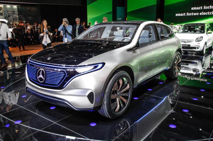 400-сильный двигатель, полный привод, нулевой уровень выбросов – характеристики нового Generation EQ.