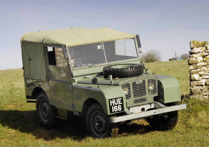 Созданный под впечатлением от Willys MB, Land Rover такой же простой и надежный.