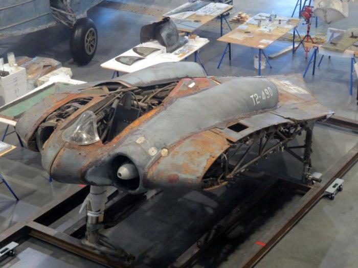 Horten Ho 229 V3 в музее.