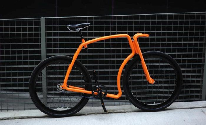 Viks Steel Urban Cycle - почти как Lamborghini.