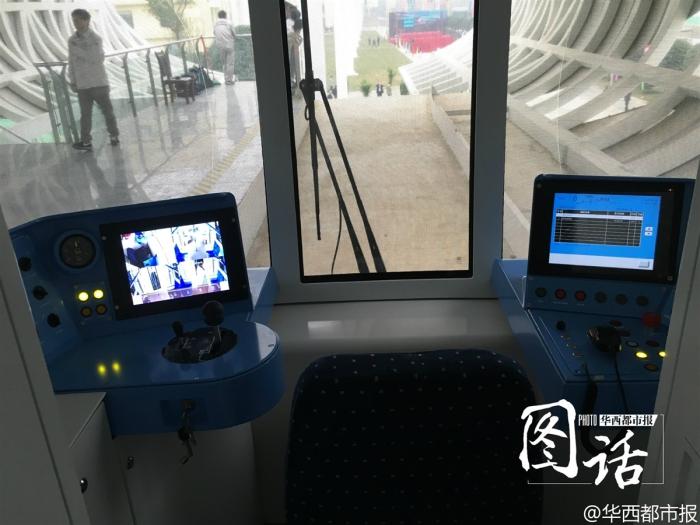 Система управления подвесным поездом Sky Train.