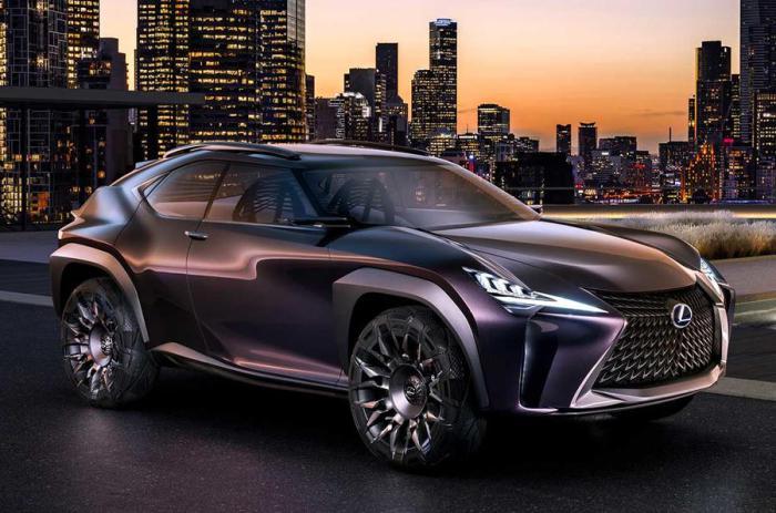 Lexus UX был разработан Европейским центром дизайна Lexus (ED2).