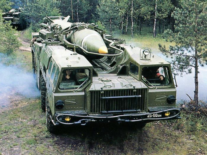 Ракетный комплекс «Эльбрус», установленный на шасси МАЗ-5247Г.
