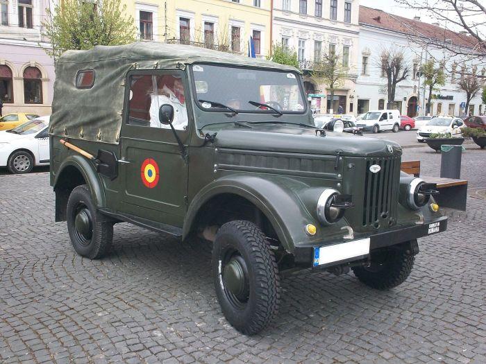 Румынский внедорожник АRО М461, построенный на основе советского ГАЗ-69. | Фото: en.wikipedia.org.