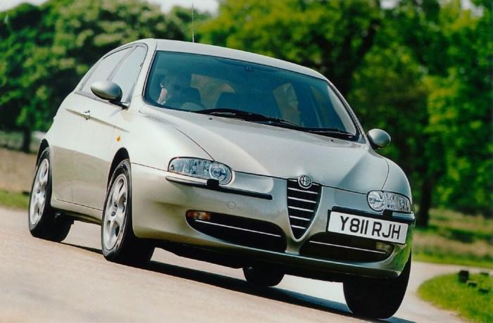 Alfa Romeo 147 – красиво и очень ненадёжно.
