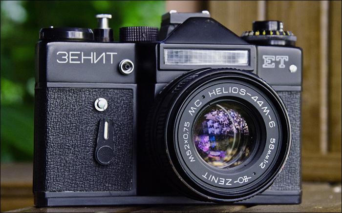 Советский фотоаппарат Зенит-ЕТ. | Фото: stuffonly.net.