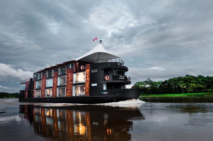 Aria Amazon на самой большой реке мира - Амазонке. | Фото: beautifullife.info.
