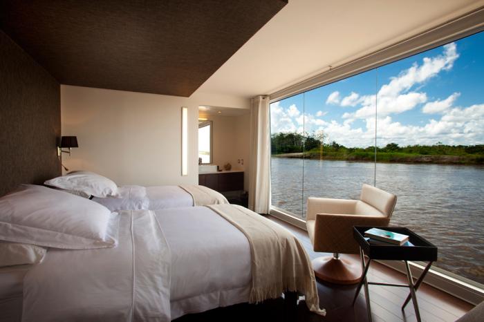 Уютные номера Aria Amazon с отличным обзором. | Фото: beautifullife.info.
