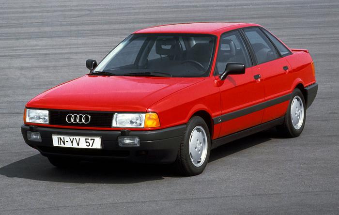 Audi 80 В3 – популярный немецкий седан конца 1980-х. | Фото: vmiredorog.ru.
