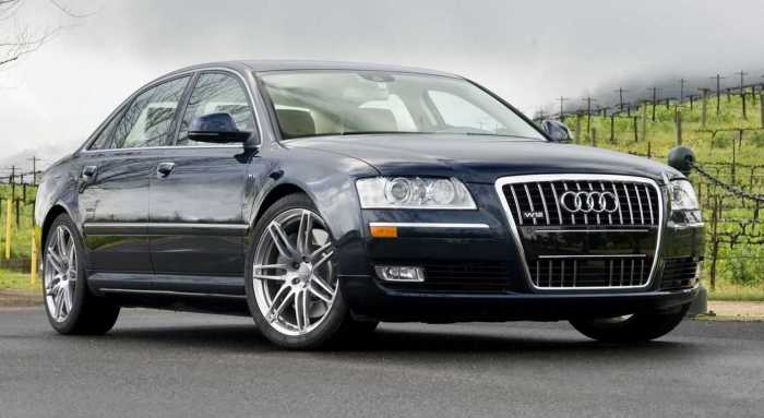 Audi А8 второго поколения. | Фото: oaudi.ru.