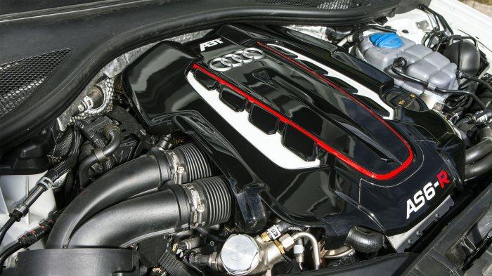 Заряженный движок Audi AS 6R.