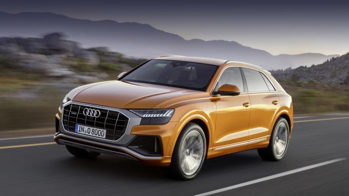 Гибридный кроссовер Audi Q8 уже представлен в США и в Китае, на очереди - серийное производство. | Фото: drive.ru.