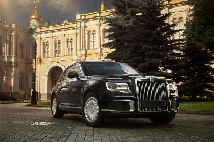 Aurus Senat назван в честь Сенатской башни Московского Кремля. | Фото: auto.mail.ru.