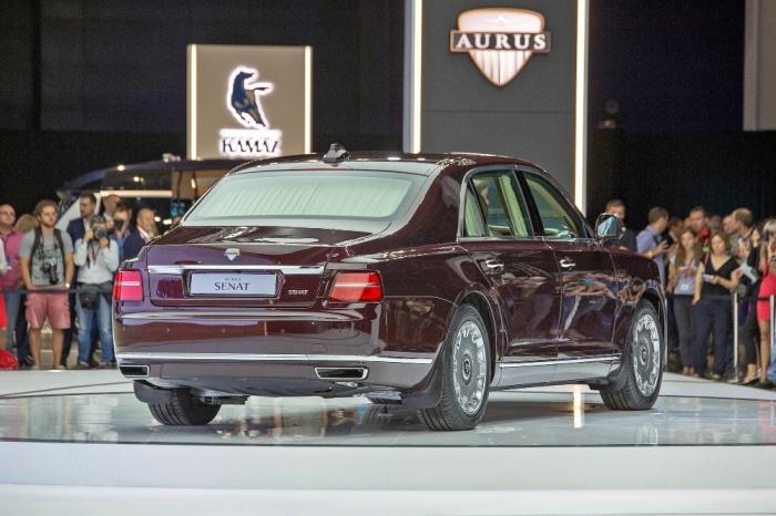 Новый российский лимузин Aurus Senat. | Фото: drive.ru.
