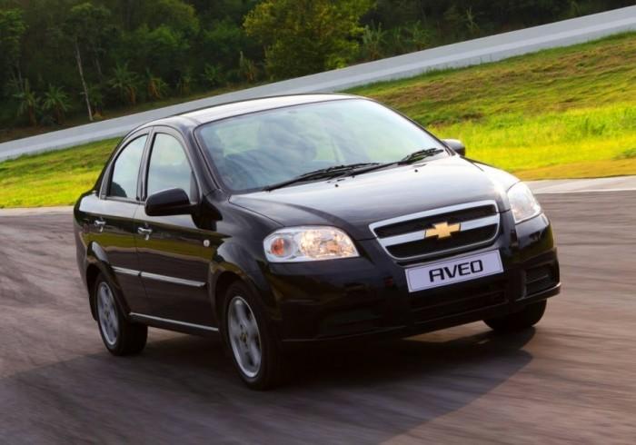 Chevrolet Aveo – машина с десятью именами.