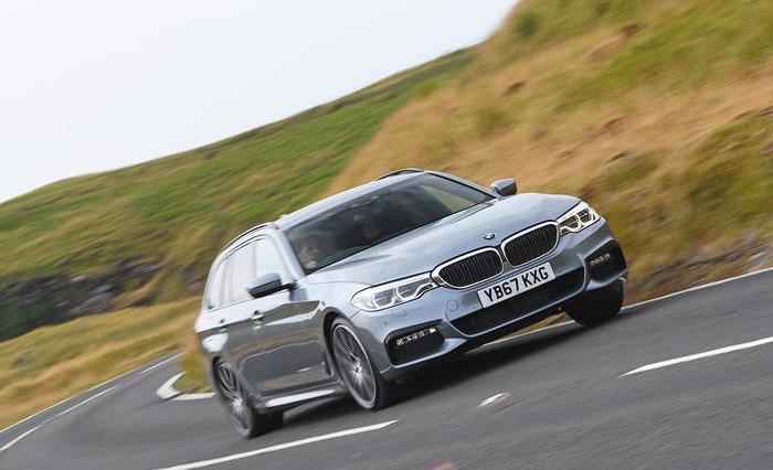 Динамичный и комфортный универсал BMW 5 Series в кузове G31. | Фото: autocar.co.uk.