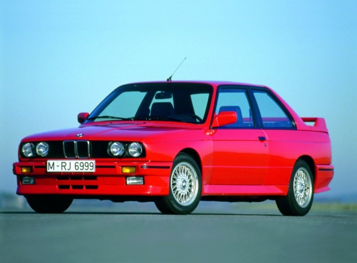 Первое поколение знаменитого спортивного седана BMW M3.