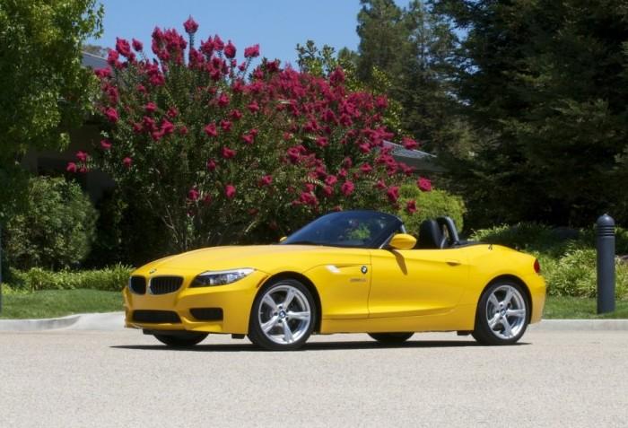 Немецкий родстер BMW Z4. | Фото: cheatsheet.com.