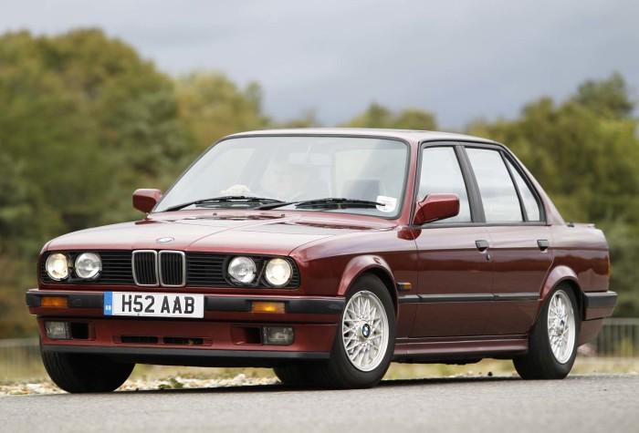 «Тройка» BMW, выпускавшаяся в 1980-х годах. | Фото: autocar.co.uk.